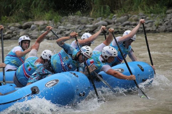 2. Junioren Weltmeisterschaft im Rafting in Costa Rica