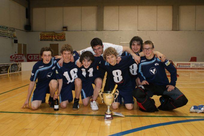 Floorball: die Junioren des ASV Sterzing bestätigen ihren Italienmeistertitel