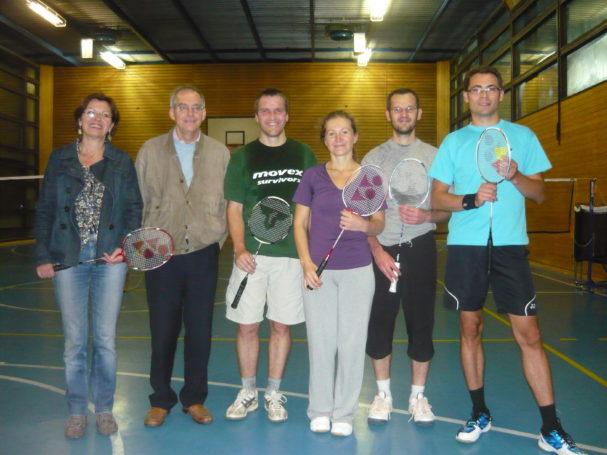 Leiter der Sektion Badminton per Akklamation ernannt