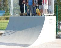 Neue Quarterpipe in unserem Skaterpark