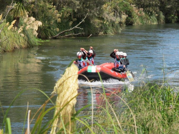 Erfolreiche Sterzinger Rafter bei der Weltmeisterschaft in Rotorua (Neuseeland)