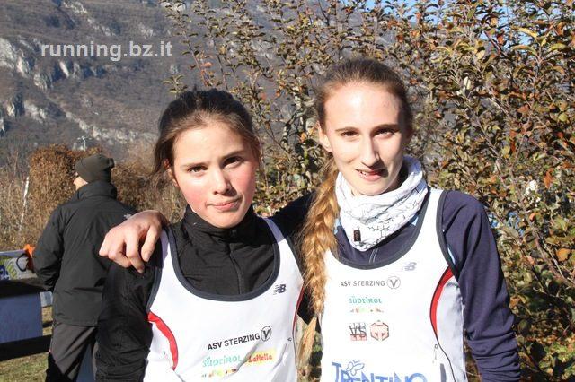Erfolgreiche Läuferinnen im Cross von Marco bei Rovereto