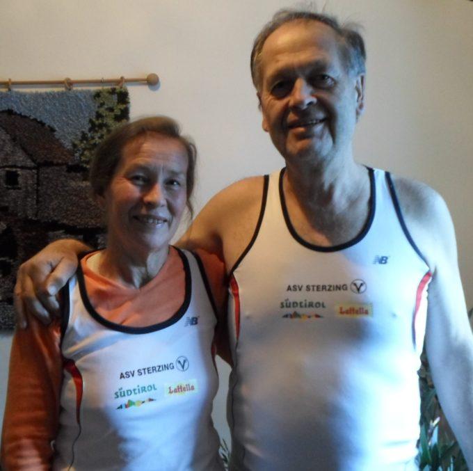 Rudolf Franz Gitzl und B. Schölzhorn Gitzl dem Laufsport verschrieben