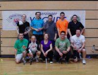 Badmintonturnier am 26. Januar 2014 in Sterzing