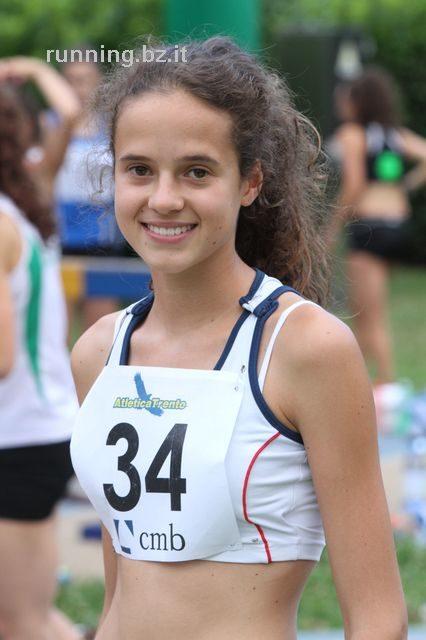 Italienmeisterschaften in Rieti: sechster Platz von Verena Stefani über 3000m