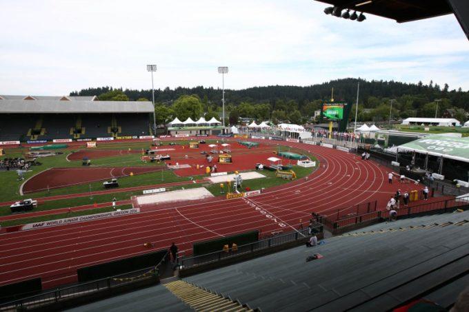 Auch Anna Stefani bei der 15. Junioren Weltmeisterschaft in Eugene (USA)