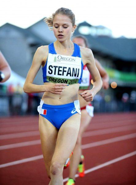 Ausgezeichneter Auftritt von Anna Stefani bei der 15. Junioren Weltmeisterschaft in Eugene (Oregon)