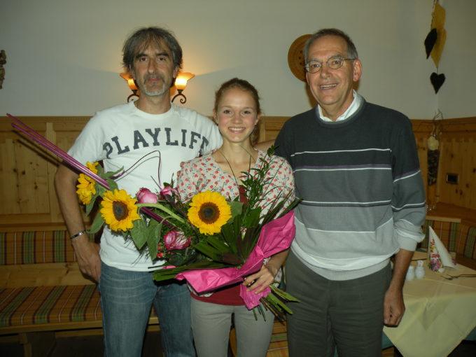 Anna Stefani verabschiedet sich vom ASV Sterzing Volksbank