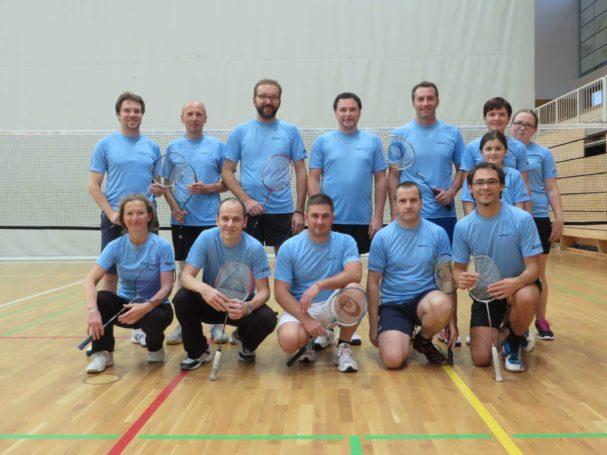 """Der neue einheitliche """"look"""" der Sektion Badminton"""