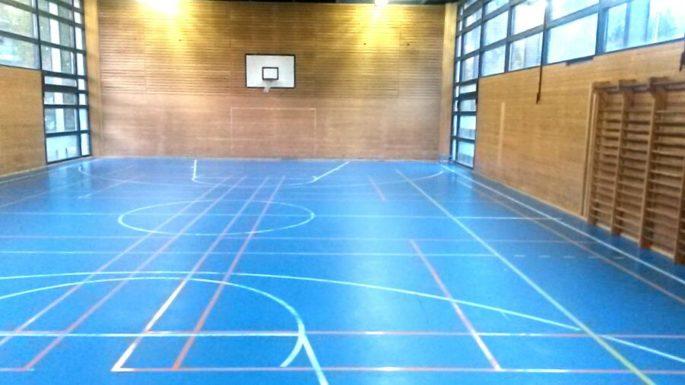 Ein weiterer Spielplatz für die Sektion Badminton