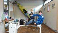 Neuer Kraftraum für die Sektion Kanu – Rafting