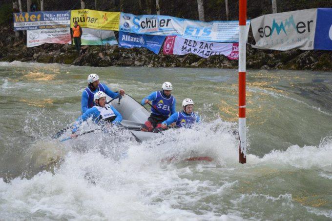 Erfolreicher Auftakt im Jahr 2015 der Sterzinger Rafter im Nationalteam im steirischen Wildalpen