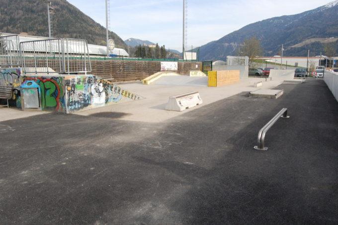 Der Skaterpark in der Sportzone wurde wieder eröffnet