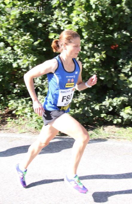 Einige großartige Agnes Tschurtschenthaler läuft in Udine neuen Landes- und Vereinsrekord im Halb-Marathon