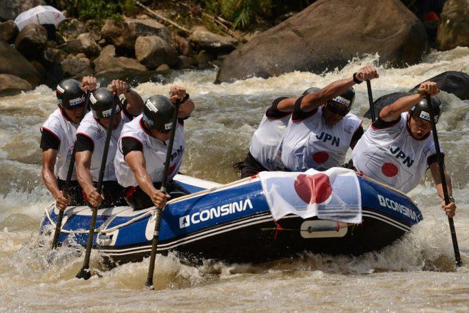 11. Rafting Weltmeisterschaft mit Sterzinger Beteiligung auf West Java begonnen