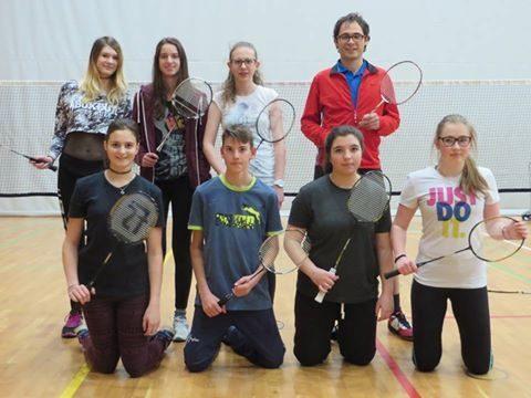 Erfolreiches erstes Jugendtraining in der Sektion Badminton