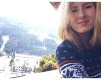 """Studentin von der """"Friedrich Schiller Universität"""" Jena absolviert  ihr Praktikum beim ASV Sterzing Volksbank"""