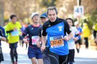 Würdiger Auftritt von Wolfgang Plattner beim Tokyo Marathon 2017
