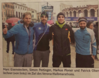 Markus Ploner erreicht einen ausgezeichneten zehnten Platz beim Halbmarathon in Verona