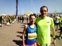 """Silvia Weissteiner und Markus Ploner jeweils 5 beim """"Mujalonga""""-Lauf über 10 km in Triest"""