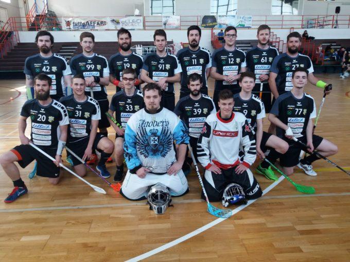 UHC Sterzing Gargazon scheidet im play-off Halbfinale gegen den GLS Floorball L'Aquila aus