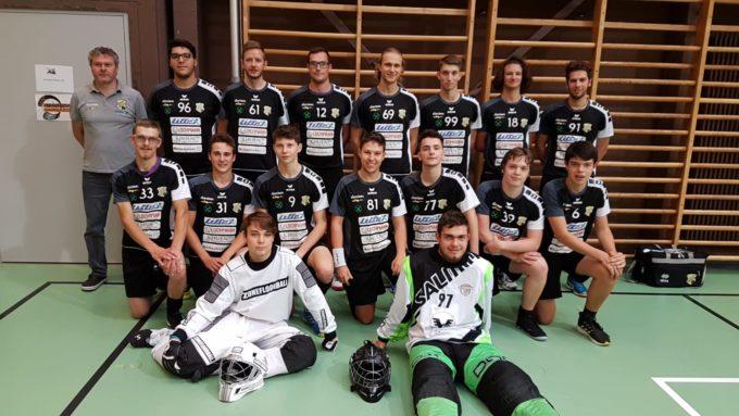 Platz 8 für unser Floorballteam beim Alps Open 7 in Innsbruck
