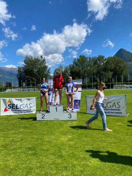 Leichtathletik-Wettkampf für Schülerinnen A und B in Lana
